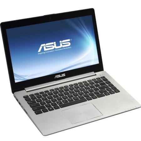 "Refurbished Grade A3 Asus VivoBook S400CA Core i3-2365M 1.4GHz 4GB 500GB 14"" Touchscreen Windows 8 Laptop in Silver & Black"