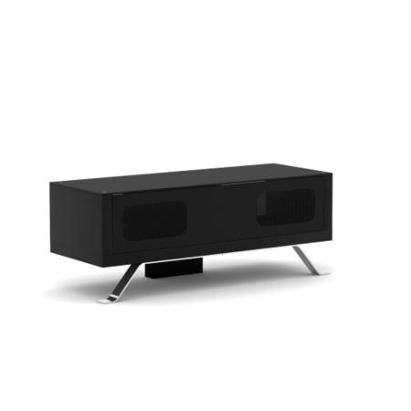Elmob Arcadia Closed Black TV Cabinet - Up to 50 Inch
