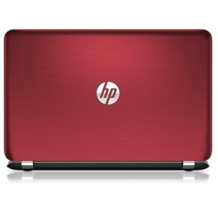Refurbished Grade A1 HP Pavilion 15-n204sa Quad Core 4GB 500GB Windows 8.1 Laptop in Goji Berry Red