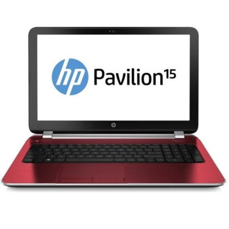 Refurbished Grade A1 HP Pavilion 15-n203sa Core i3 4GB 500GB Windows 8.1 Laptop in Goji Berry Red