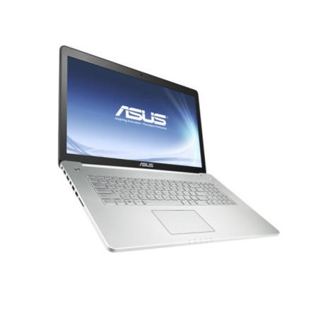 "A2 ASUS N750JV Black/Silver - Core i7-4700HQ 2.4GHz/3.4GHz/6MB 8GB DDR3L 1TB 17.3"" FHD Win8HP 64Bit DVDSM NVidia GeForce GT 750M 2GB webcam BT 4.0 4xUSB 3.0 HDMI 3MT - No Ext Spk"