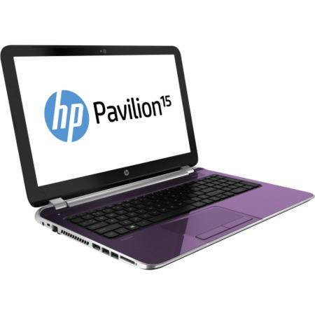 Refurbished Grade A1 HP Pavilion 15-n200sa TouchSmart Quad Core 4GB 750GB 15.6 inch Touchscreen Laptop - Purple