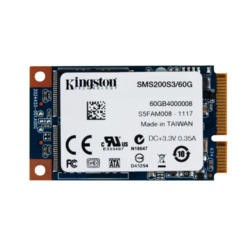 "Kingston mS200 2.5"" 60GB mSATA SSD"