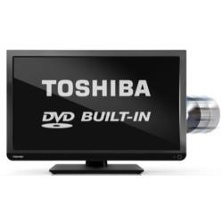 Ex Display - As new but box opened - Toshiba 24D1433 24 Inch Freeview LED TV with built-in DVD Player