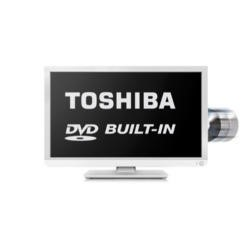 Toshiba 24D1434 24 Inch Freeview LED TV with built-in DVD Player