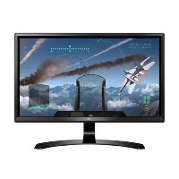 "LG 24UD58 24"" IPS 4K Ultra HD Freesync HDMI Gaming Monitor"
