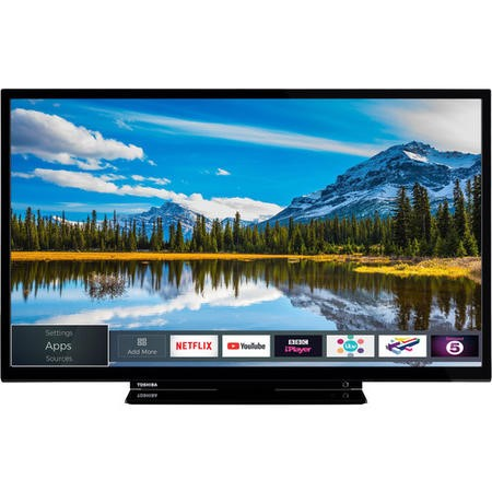 "24W2863DB Toshiba 24W2863DB 24"" HD Ready LED Smart TV with 3 Year Warranty"