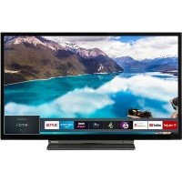 "Toshiba 24WL3A63DB 32"" HD Ready Smart LED TV with Freeview Play"
