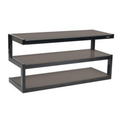 Norstone Esse Black and Grey TV Stand - Up to 50 Inch