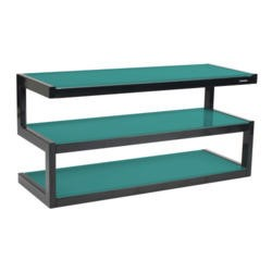 Norstone Khalm Black TV Stand - Up to 42 Inch