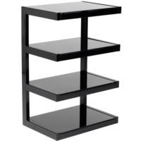 Norstone Esse Black and Black Hi-Fi Stand