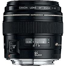Canon EF 85mm USM Telephoto Lens