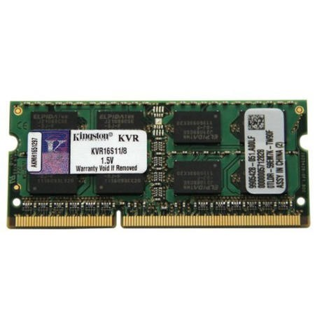 KVR16S11/8 Kingston 8GB DDR3 1600MHz SO-DIMM Memory