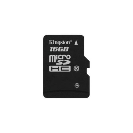 Kingston MicroSDHC 16GB Card Class 10