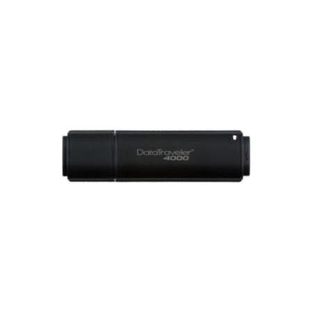 Kingston DataTraveler 4000 8GB Secure USB Flash Drive 100% 256-bit Hardware Encryption FIPS 140-2 Certification