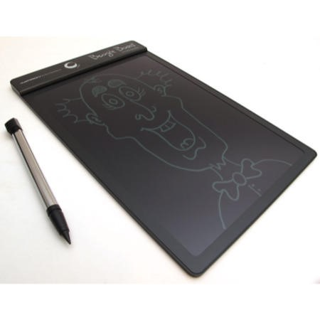 "Large Boogie Board 10.5"" Writing Tablet in Black"