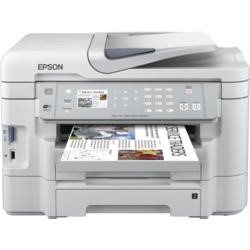 GRADE A1 - As new but box opened - Epson WorkForce WF-3530DTWF Colour Ink-jet - Fax / copier / printer / scanner