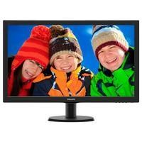 "Philips 273V5LHSB/00 27"" LED 1920x1080 VGA HDMI - Black"