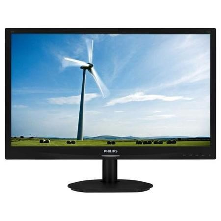"Philips 231S4LSB/00 23"" LED 1920x1080 VGA DVI Tilt  Black"