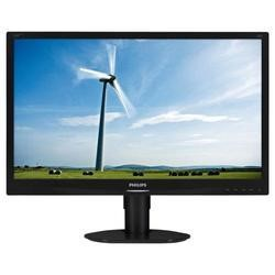 "Philips Brilliance LCD monitor LED backlight 220S4LCB S-line 22"" / 55.9 cm 1680x1050 with SmartImage"