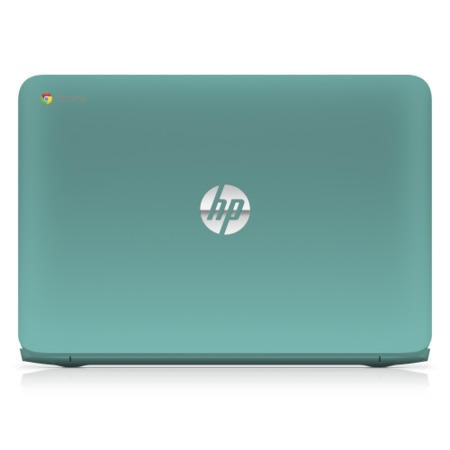 "Refurbished HP Chromebook 14-q012sa 14"" Celeron 2955U 1.4GHz 4GB 16GB SSD Chrome OS in Turquoise"