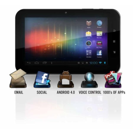Refurbished Grade A1 Versus Touch Tab 9 512MB 8GB 9 inch Android 4.0 Ice Cream Sandwich in Black