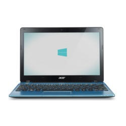Refurbished Grade A2 ACER Aspire One 725 4GB 320GB 11.6 inch Tablet in Blue