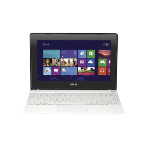 Refurbished Grade A1 Asus VivoBook X102BA AMD A4-1200 4GB 500GB Windows 8 10.1 inch Touchcsreen Laptop in White