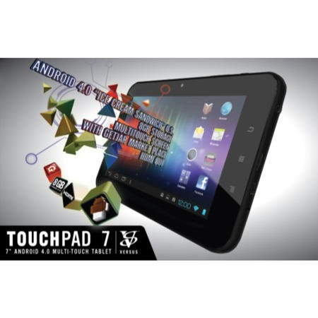 Refurbished Grade A3 Versus Touch Tab 7 1GB 8GB 7 inch Android 4.0 Ice Cream Sandwich Black