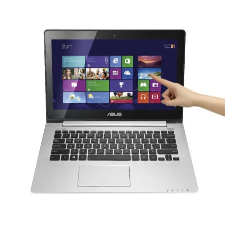 Refurbished Grade A1 Asus S300CA Core i3 4GB 750GB Windows 8 Touchscreen Laptop