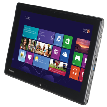 Refurbished Grade A1 Toshiba WT310-108 Core i5 4GB 128GB SSD 11.6 inch Windows 8 Pro Tablet