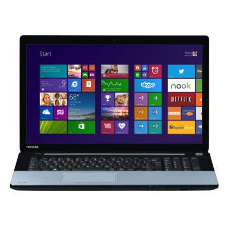 Refurbished Grade A1 Toshiba Satellite S70-A-11R Core i7 8GB 1TB 17.3 inch Windows 8.1 Laptop in Ice Blue