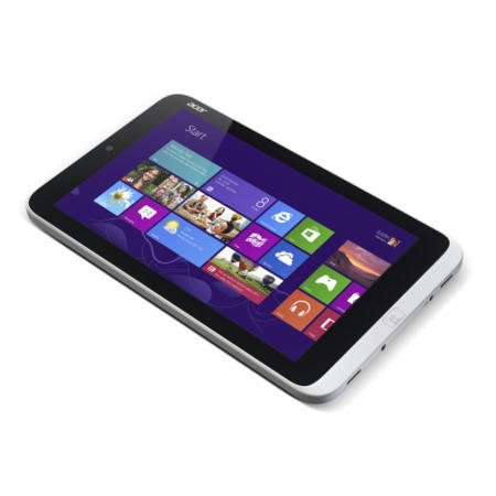 Refurbished Grade A2 Acer Iconia W3-810 2GB 64GB 8 inch Windows 8 Wi-Fi Tablet in Silver