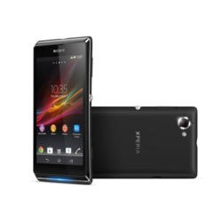 "Refurbished GRADE A1 - As new but box opened - Sony XPERIA L 8GB 4.3"" Black Sim Free Mobile Phone"