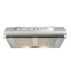 New World 50cm Conventional Cooker Hood With Glass Visor White