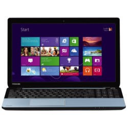 Refurbished Grade A1 Toshiba Satellite S50D-A-10J Quad Core 12GB 1TB Windows 8.1 Laptop in Ice Blue