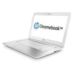Refurbished Grade A1 HP 14-q010sa Celeron 2955U 4GB 16GB SSD 14 inch Google Chromebook in Snow White