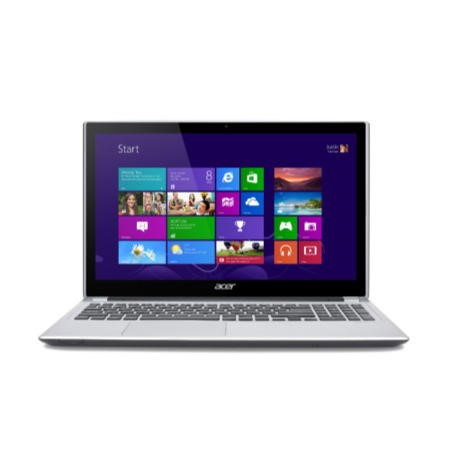 "Refurbished Acer Aspire V5-571P Core i5 6GB 750GB Windows 8 15.6"" Touchscreen Laptop in Silver"