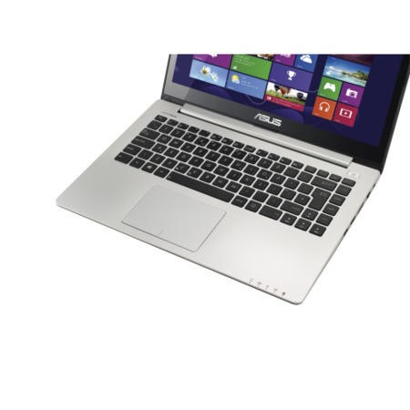 Refurbished Grade A1 Asus VivoBook S400CA Core i3 14 inch Touchscreen Laptop in Silver & Black