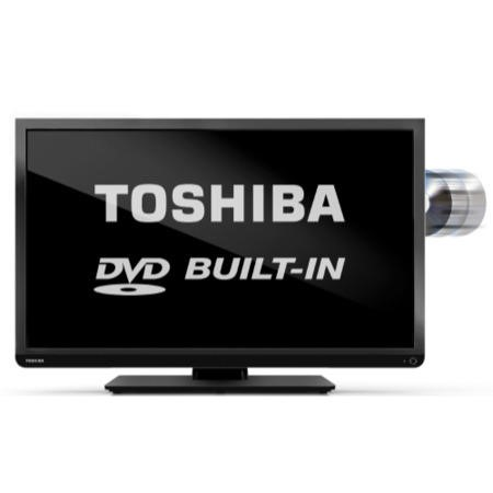 Ex Display - As new - Toshiba 32D1333B 32 Inch Freeview LED TV with built-in DVD Player