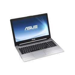 Refurbished Grade A1 Asus S56CA Core i3 4GB 500GB Windows 7 Laptop in Black & Silver