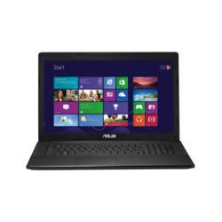 Refurbished Grade A1 Asus X75VC Core i3 4GB 500GB 15.6 inch Windows 8 Laptop in Black