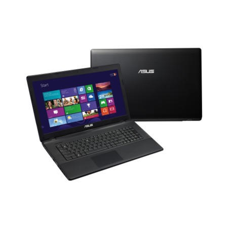 Refurbished Grade A1 Asus X75VC Core i5 6GB 500GB 17.3 inch Windows 8 Laptop in Black