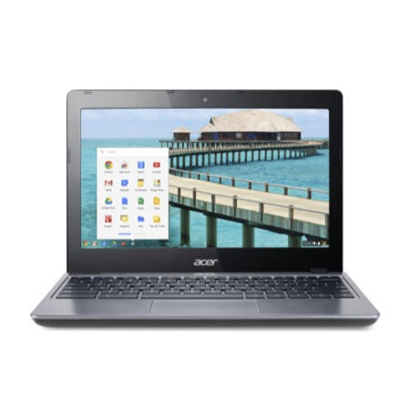 "Refurbished Acer Aspire C720 11.6"" Intel Celeron 2955U 1.4GHz 2GB 16GB Chrome OS Laptop"