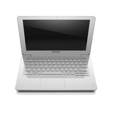 Refurbished Grade A2 Refurbished Grade A1 Lenovo IdeaPad S206 4GB 320GB Windows 8 Laptop in White