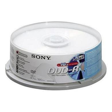 DVD-R  16X  Spindle-BULK 25  Blank Disks