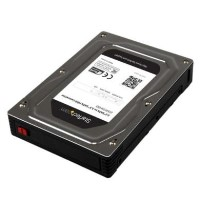 StarTech.com 2.5 to 3.5 SATA Aluminum Hard Drive Adapter Enclosure with SSD / HDD Height up to 12.