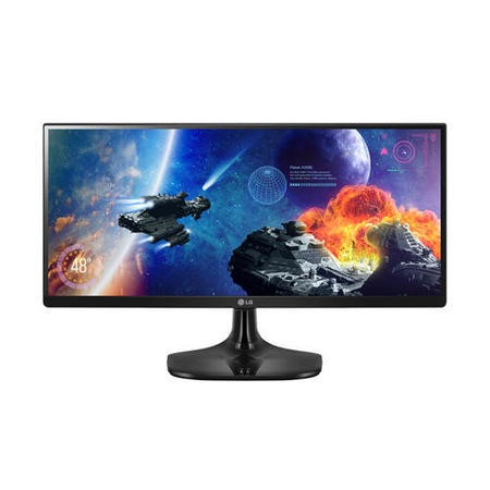 "LG 25UM57-P 25"" IPS LED Monitor 2560 x 1080 21_9 HDMI UltraWide Gaming Monitor"