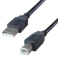 3M USB 2.0 Universal Serial Bus Cable - Black