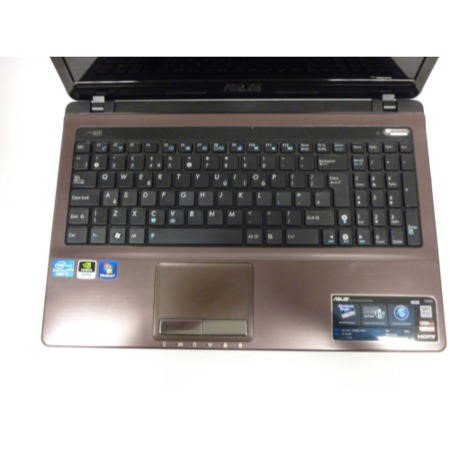Refurbished Grade A2 Asus K53SD Core i7 Entertainment Laptop in Brown